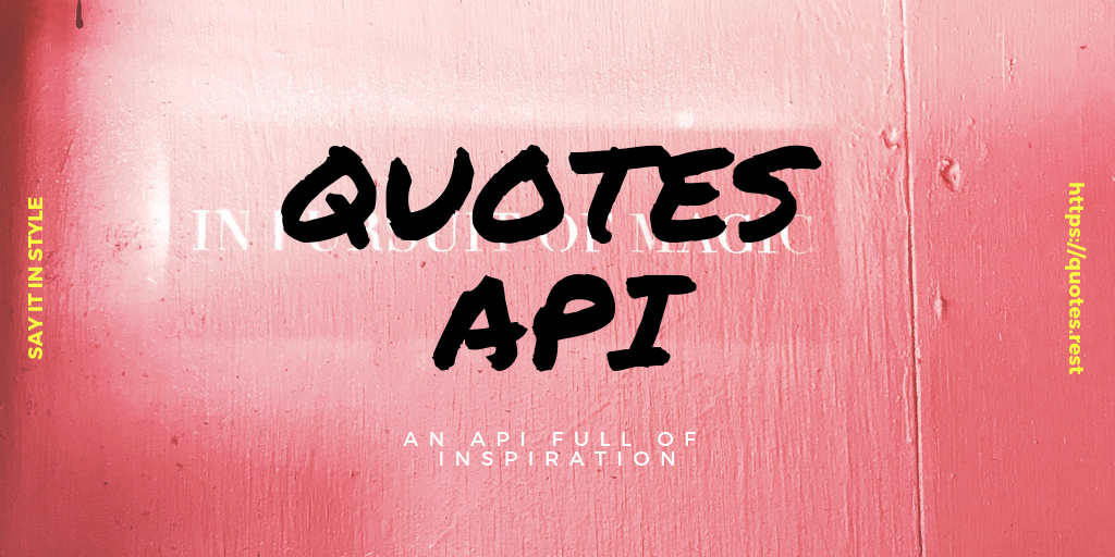 Quotes REST API